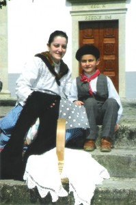 Rapaz e mãe